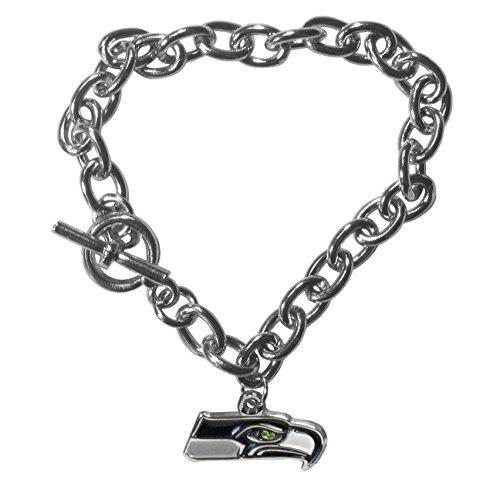 NFL Seattle Seahawks Charm Chain Bracelets