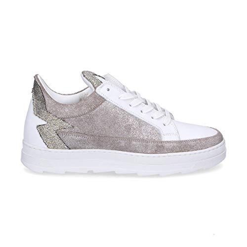 Kerol12 Mohai Pelle Donna Bianco Sneakers vqqwPRX