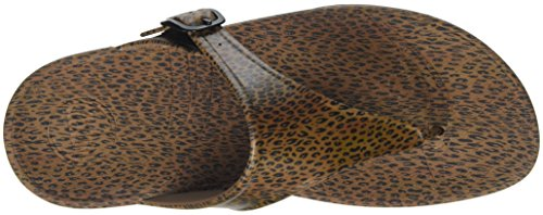 Fitflop Superjelly Leopard - Sandalias Mujer Multicolour (Cheetah Brown)