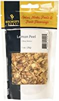 Lemon Peel, Dried Herb, 1 Oz 100% Natural No Additives