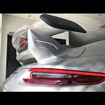 Porsche 991 2 GT3 Spoiler Wing, with trunk engine lid, fits