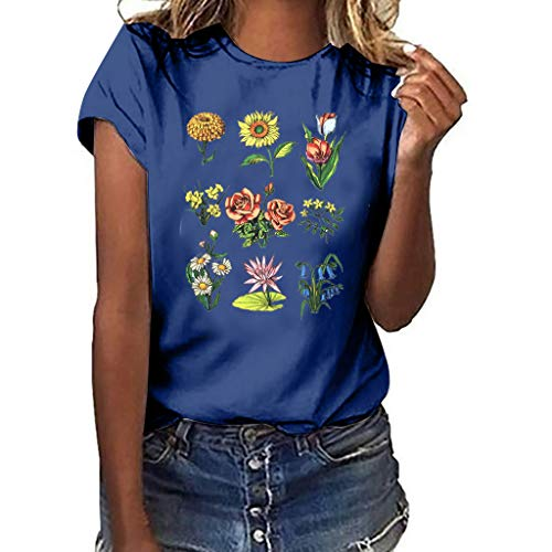- Gifts for Women Womens Tops T Shirts for Women 80s Clothes for Women Birthday Gifts for Women D-Navy