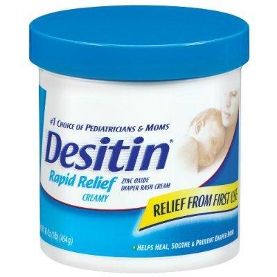 (Desitin Rapid Relief Creamy Jar, 16-Ounce by Desitin)