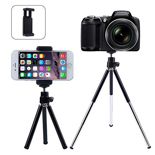SrSunRoom Tripod Camera Tripod Aluminum Alloy Complete Tripod | Travel Portable Folding Tripod, Detachable Monopod Phone Tripod (Phone Tripod -S7)