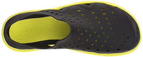 Hombre Swiftwater Zapatos Wave Plano para Black Crocs XdZwZ