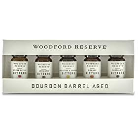 WOODFORD RESERVE BITTERS DRAM SET – FIVE PAC...