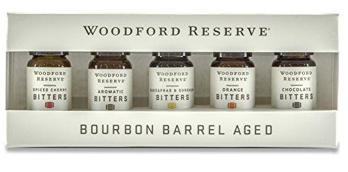 (WOODFORD RESERVE BITTERS DRAM SET – FIVE PACK (10ML EACH))