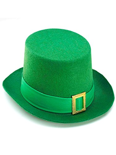 Forum Novelties Beistle Green Vel-Felt Top Hat -