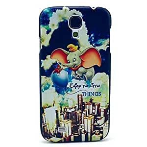 GJY Baby Elephant Pattern Hard Plastic Cases for Samsung Galaxy S4 mini I9190