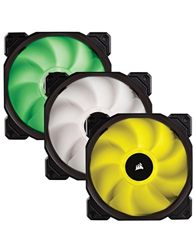 Corsair CO-9050061-WW SP Series, SP120 RGB LED, 120mm High Performance RGB LED Three Fans with Controller