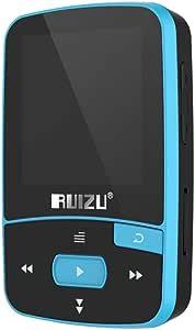 Gecheer X50 8GB 1.5in MP3 Player HiFi Lossless Sound Quality BT Pedometer TF Card FM Radio Recording E-Book Time Calendar