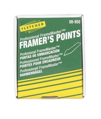 Push Points (Fletcher-Terry Co Framers Stacked Points 08-950, Silver, 5/8 in)