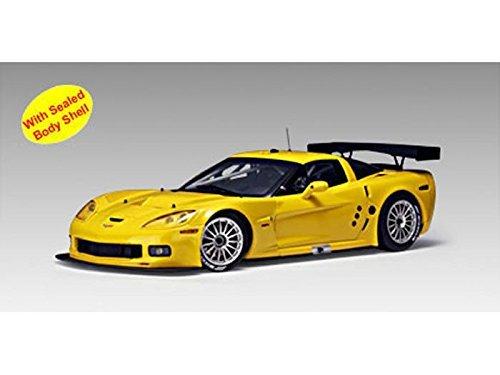 Chevy Corvette C6R Plain Body Version 1/18 Yellow ()
