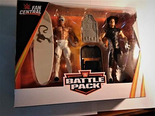 WWE Fan Central Battle Pack with Sting vs Undertaker ()
