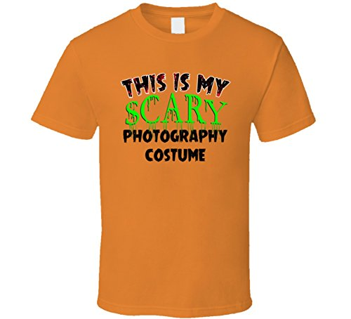 This is My Scary Photography Halloween Cool Trending Job T Shirt XL -