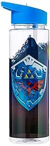 Just Funky Zelda - Water Bottle, Multi Colour