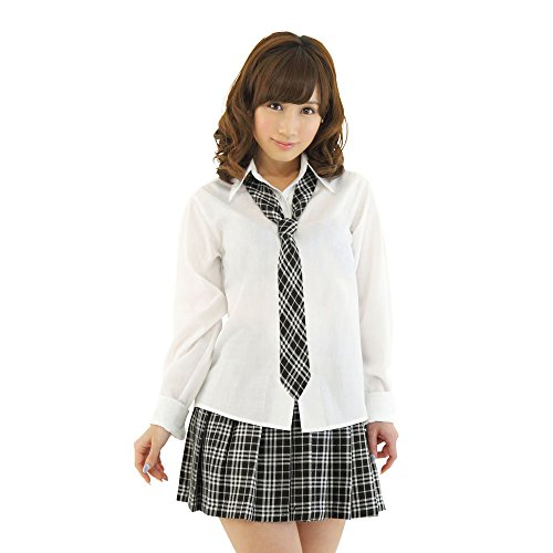 Be With Women's High School Uniform One-Size Gray ()