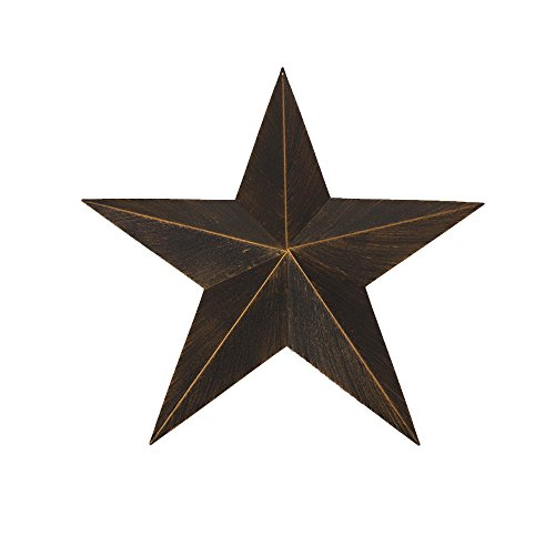 Hot Air Balloon Barn Metal Star Wall Art Decor Design Western Home Decor Vintage Rustic Dark Bronze New(12/17/24 Inches (36 Inches)