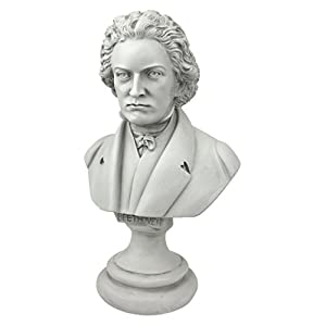 Design Toscano Great Composer Beethoven Sculpture