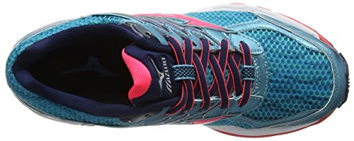Mizuno Running Diva Capri Blues Shoes Paradox 3 Wave Turquoise Dress Viscotech Women's Pink wBI8xAwqr