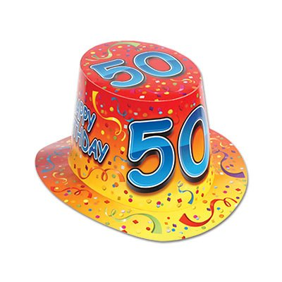 Beistle 66211-50 Party Supplies (25 Piece), One Size Fits Most, Multicolor ()