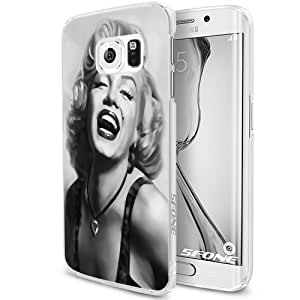 Marilyne Monroe Art Smartphone Samsung Galaxy S6 Case Cover Collector White Hard Cases by mcsharks