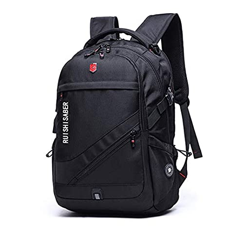 Swiss Men School Backpack 15.6 Laptop Rucksack Bag Travel Notebook Hiking Women