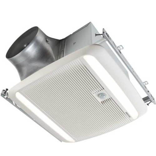 Broan ZB110ML1 Ultragreen 110CFM Multi Speed Motion Sensing Fan/LED by Broan
