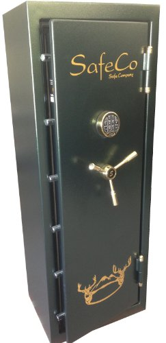 SafeCo Safe Co. DL5922L-E 10 Gun Safe With Electronic Lock & 60 Minute Fire Liner
