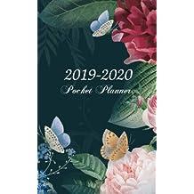 2019-2020 Pocket Planner: 2-Year Pocket Planner 24-Month Calendar, Two-Year Monthly Pocket Planner, Academic Organizer, Agenda and Calendar, January 2019 through December 2020, U.S. Holidays