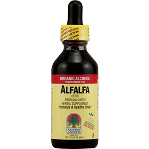 Nature's Answer Alfalfa Herb with Organic Alcohol, 2-Fluid (Alfalfa Herb Extract)