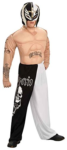 Child Deluxe Rey Mysterio Jr - Large by Rubie's