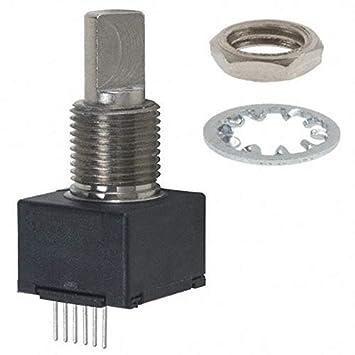 Pack of 2 ROTARY ENCODER OPTICAL 64PPR EM14A0D-C24-L064N