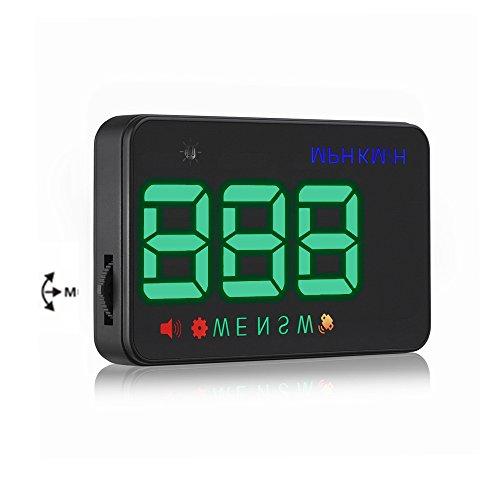 LTC® Original Digital Universal coche HUD velocímetro GPS Alarma de exceso de velocidad parabrisas proyecto para todos los vehículos: Amazon.es: Coche y ...