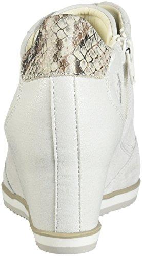 Pour Geox Wei Femme Blanc Baskets 5wTqvR