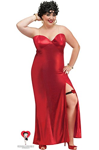 Betty Boop Plus Adult Costume