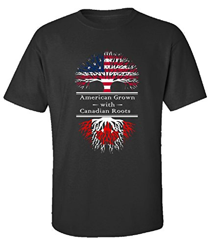 american-grown-with-canadian-roots-canada-gift-adult-shirt-xl-black