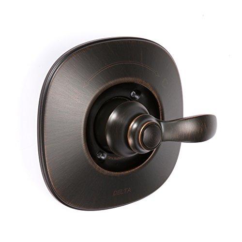 Delta Nura Venetian Bronze 1-Handle Shower Faucet with Multi-Function Showerhead