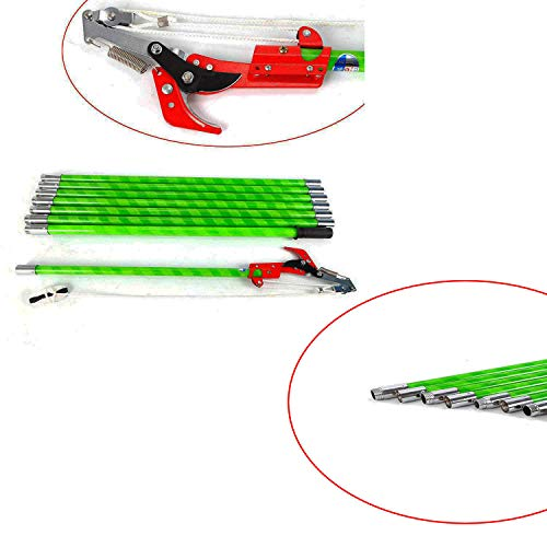 FSYD 26 Foot Pole Saw Telescoping Pole Saws for Tree Trimming 26 ft Extension Tree Saw Garden Tools Loppers Hand Pole Saws Extends from 3-26 feet Tree Pruner Pole Saw Trimmer Branches