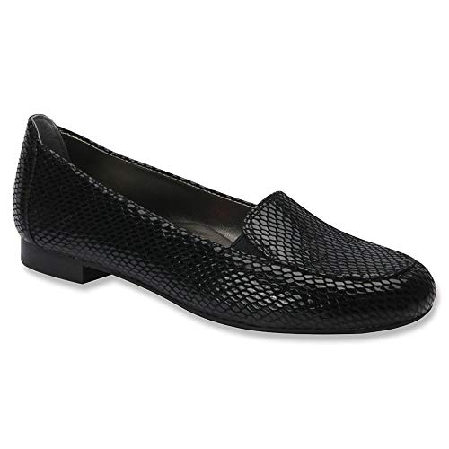 Ros Hommerson Women's Regan Black Casual Loafers 6 W