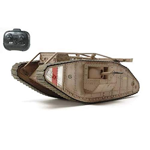 TAMIYA 1/35 SCALE R/C WWI BRITISH TANK Mk.IV MALE (CONTROL UNIT Attached) 48214【Japan Domestic Genuine Products】【Ships from Japan】