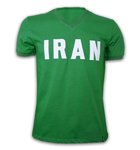 1970 Retro Jersey (Iran 1970\'s Short Sleeve Retro Shirt 100% cotton)