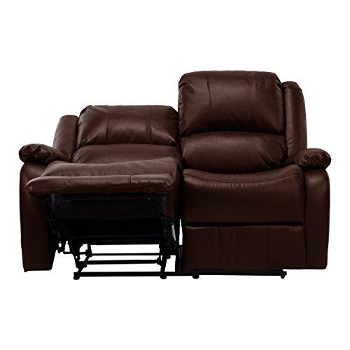 Recpro Charles 58 Double Rv Zero Wall Hugger Recliner Sofa Loveseat Mahogany Best Sofas