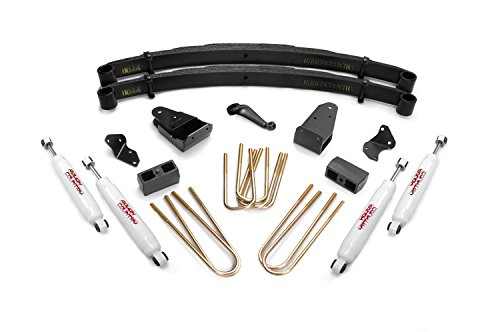 Rough Country - 490-87UP.20 - 4-inch Suspension Lift Kit w/ Premium N2.0 Shocks (1996 Ford F250 Front Lift Kit compare prices)
