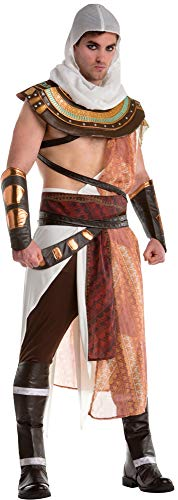 Adult Mens Assassins Creed Bayek Founder Organised Assassin Halloween Costume ()