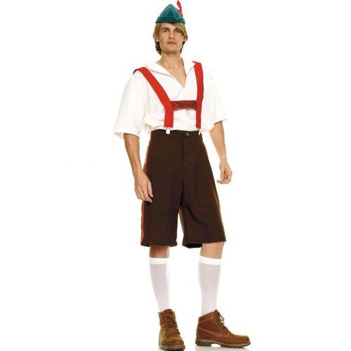 German LA83240 (X-Large) Lederhosen Costume Mens Bavarian Costume