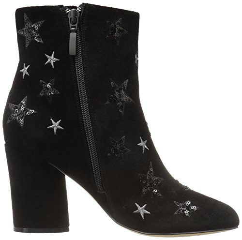 The Fix Women's Nash Star Sequin Oval Heel Ankle Bootie, Black, 8 B US by The Fix (Image #6)
