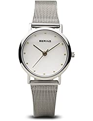 BERING Time 13426-001 Womens Classic Collection Watch with Mesh Band and scratch resistant sapphire crystal. Designed...