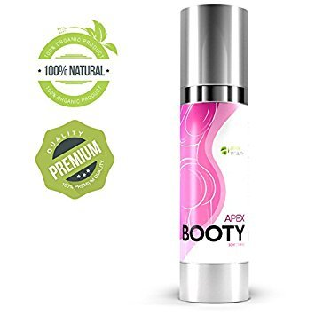 Apex Booty | Butt Enhancement Cream | Anti Cellulite Treatment | Butt Lifter | Skin Firming and Tightening | Booty enlargement | Sexy Looking Curves | Softer Skin | Toned look | 50 ml | Made In USA