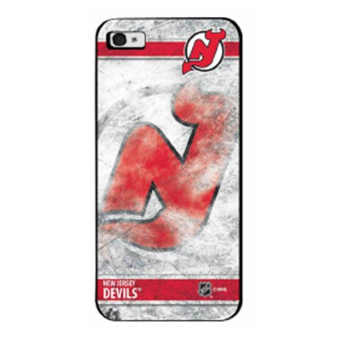 NHL New Jersey Devils Ice iPhone 5 Case (Iphone 6 Devils Hockey Case)